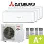 Mitsubishi SCM80ZM(S)-S Quadsplit-Plus-Inverter
